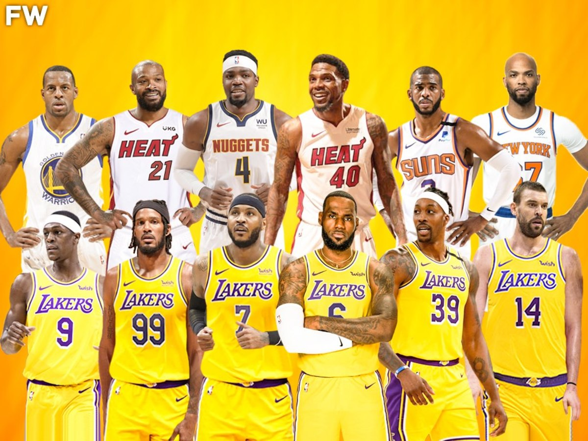 The Los Angeles Lakers Have 6 Out Of 12 Oldest Players In The League