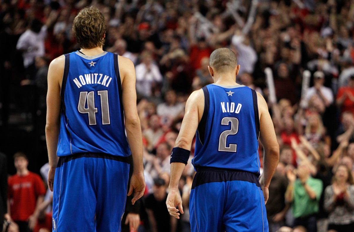 "Dirk Nowitzki's Hilarious Shooting Advice For Jason Kidd: ""Breathe Through Your Eyes"""