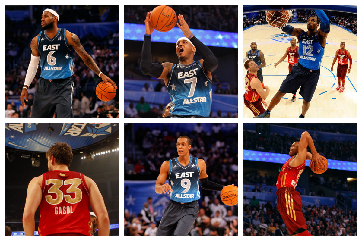 LeBron James, Carmelo Anthony, Dwight Howard, Rajon Rondo, Marc Gasol And Russell Westbrook Were All-Stars Before Anthony Davis Entered The NBA