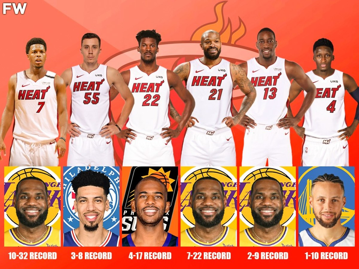 The Deadliest Kryptonite For The Miami Heat: LeBron James Has Dominated 3 Heat Starters, Jimmy Butler Has Only 4 Wins Against Chris Paul