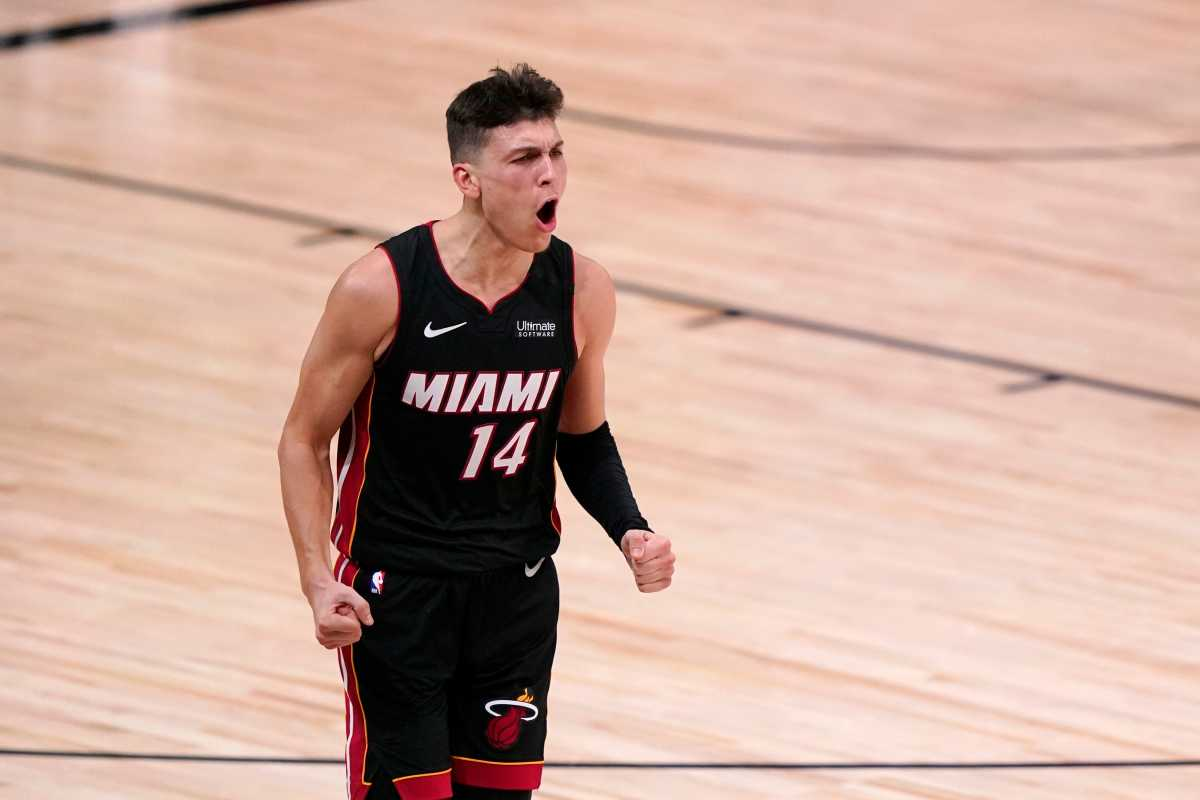 """Pat Riley Says Tyler Herro Is """"Core Player"""" For Miami Heat"""