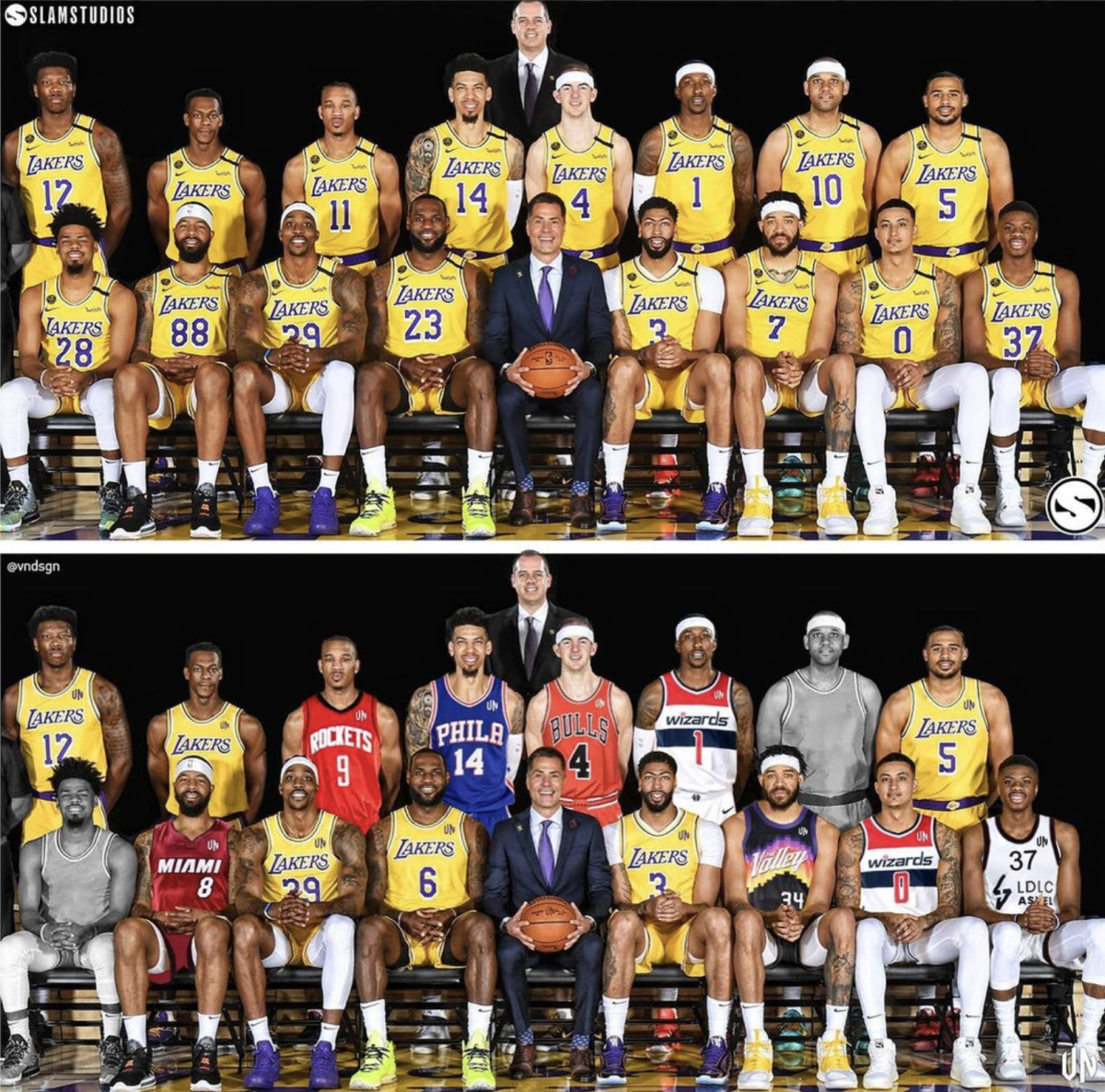 How The 2020 NBA Champions Los Angeles Lakers Look Today: Only 6 Players Are With The Lakers Now