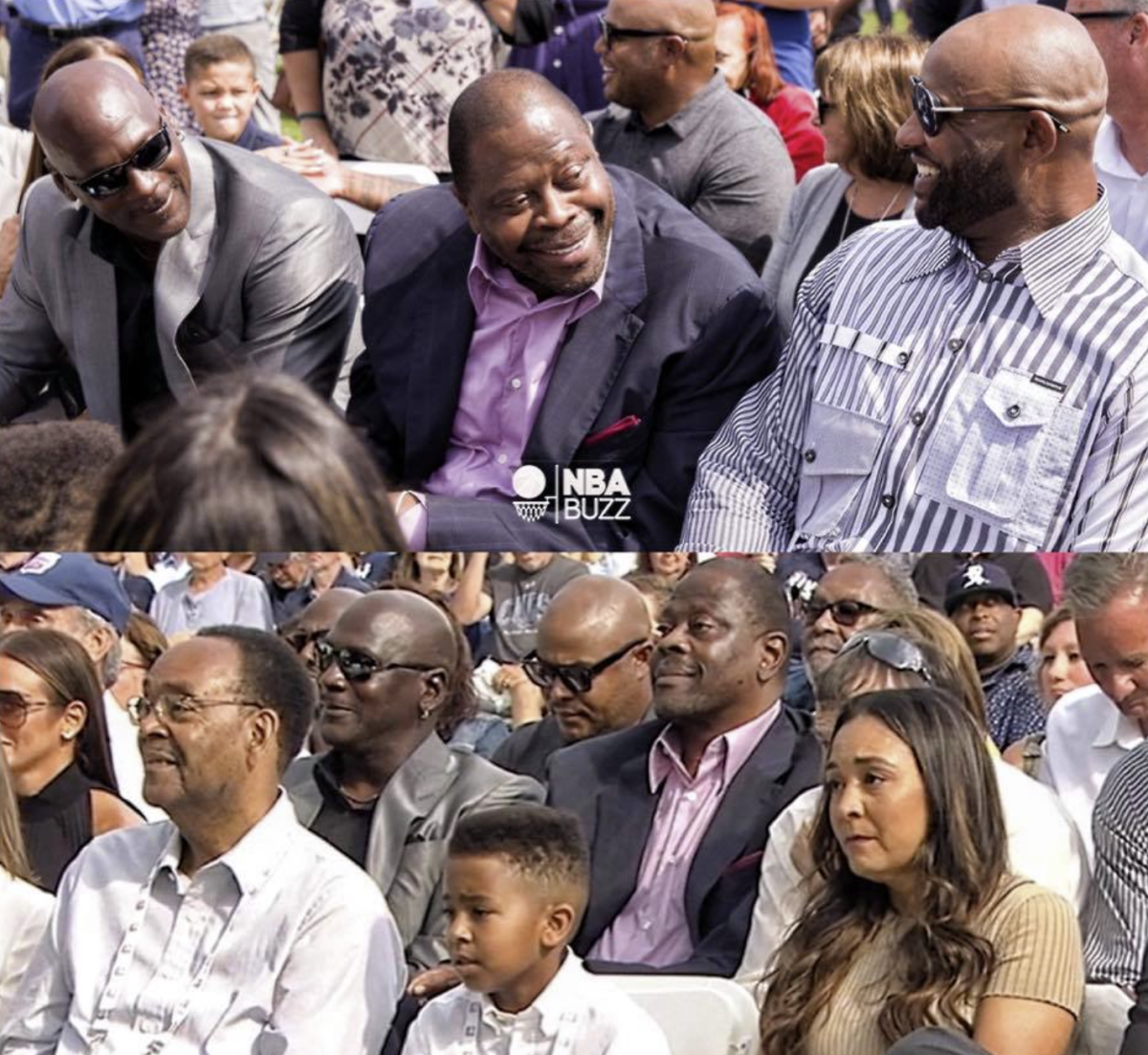 """Michael Jordan Attends Derek Jeter's Hall Of Fame Induction: """"Man That's A Lot Of Star Power Right There"""""""