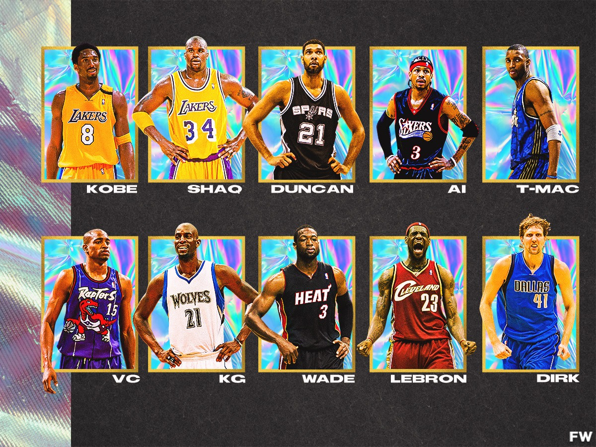 10 Fan-Favorite Players From The 2000s: Kobe Bryant Was The Most Popular Superstar Of His Era