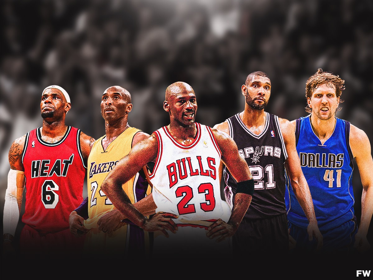 Michael Jordan Believes Only LeBron James, Kobe Bryant, Tim Duncan, And Dirk Nowitzki Could Compete In His Era