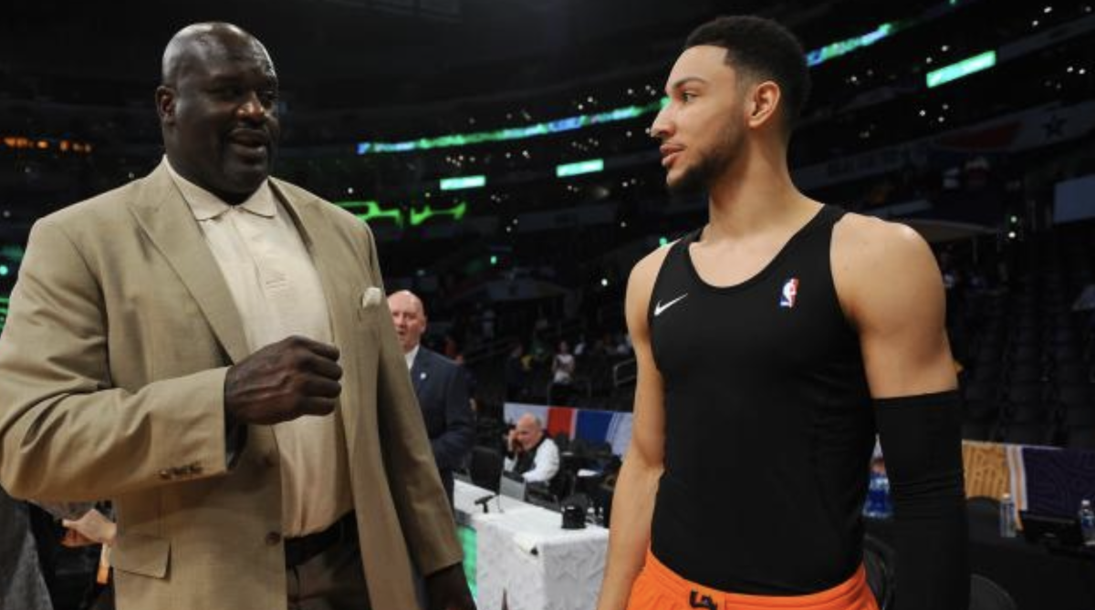 """Shaquille O'Neal Sends Strong Message To Ben Simmons Ahead Of New Season: """"You Got To Work On Your Game, Man. Don't Be Sending Out Tweets With You And Your Little Actress Girlfriend Riding In Your Ferrari"""""""