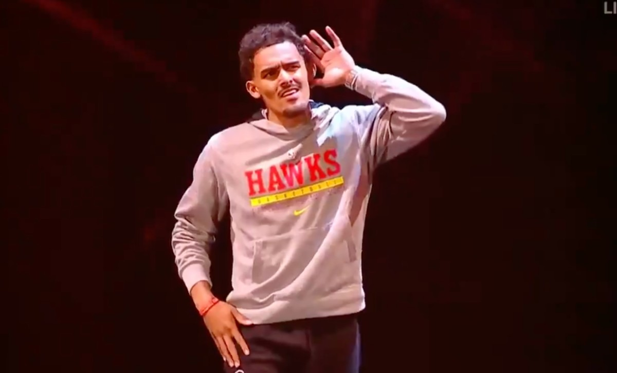 Trae Young Returns As The Villain Of Madison Square Garden For WWE Smackdown, Gets Physical With WWE Legend Rey Mysterio