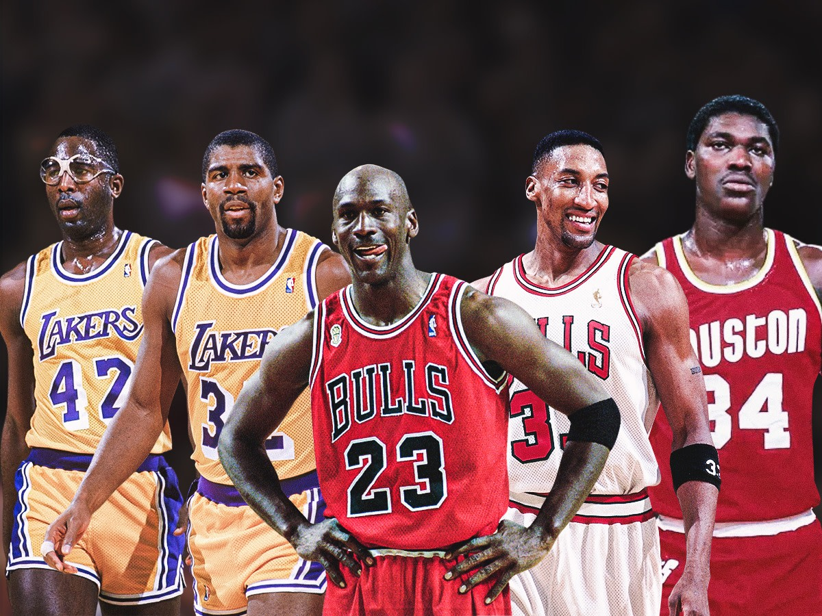 NBA 2K Asked Michael Jordan To Pick His Perfect Team In 2013: Scottie Pippen, Magic Johnson, James Worthy, And Hakeem Olajuwon