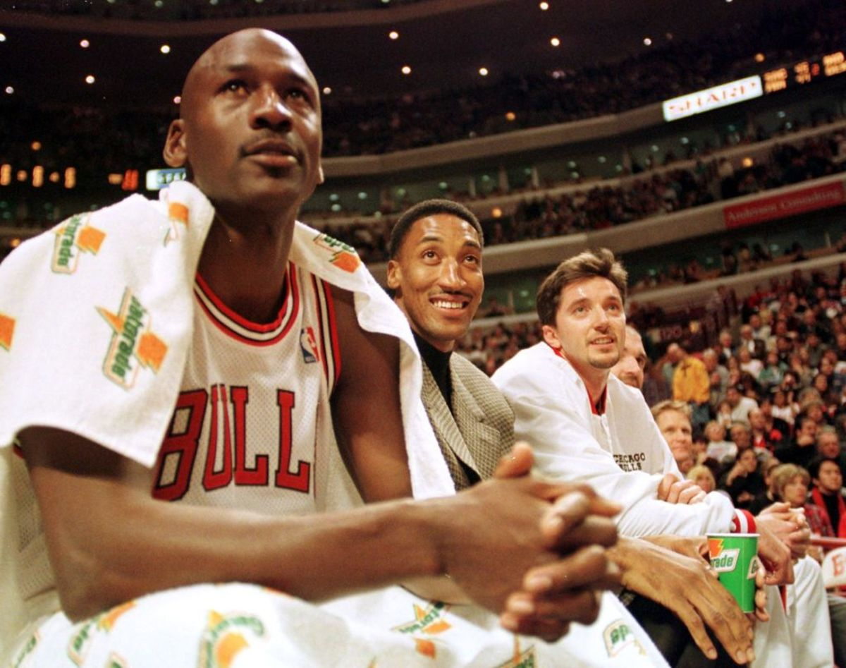 "Toni Kukvoc Says Scottie Pippen, Not Michael Jordan, Is His Favorite Teammate Ever- ""Scottie, To Me, Was As Important As Michael."""