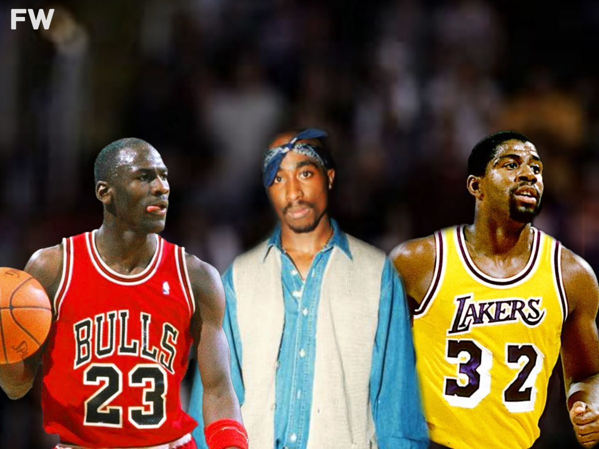 Tupac Watched His Final NBA Game Between Lakers And 72-10 Bulls: Three GOATs Were In The Arena That Night