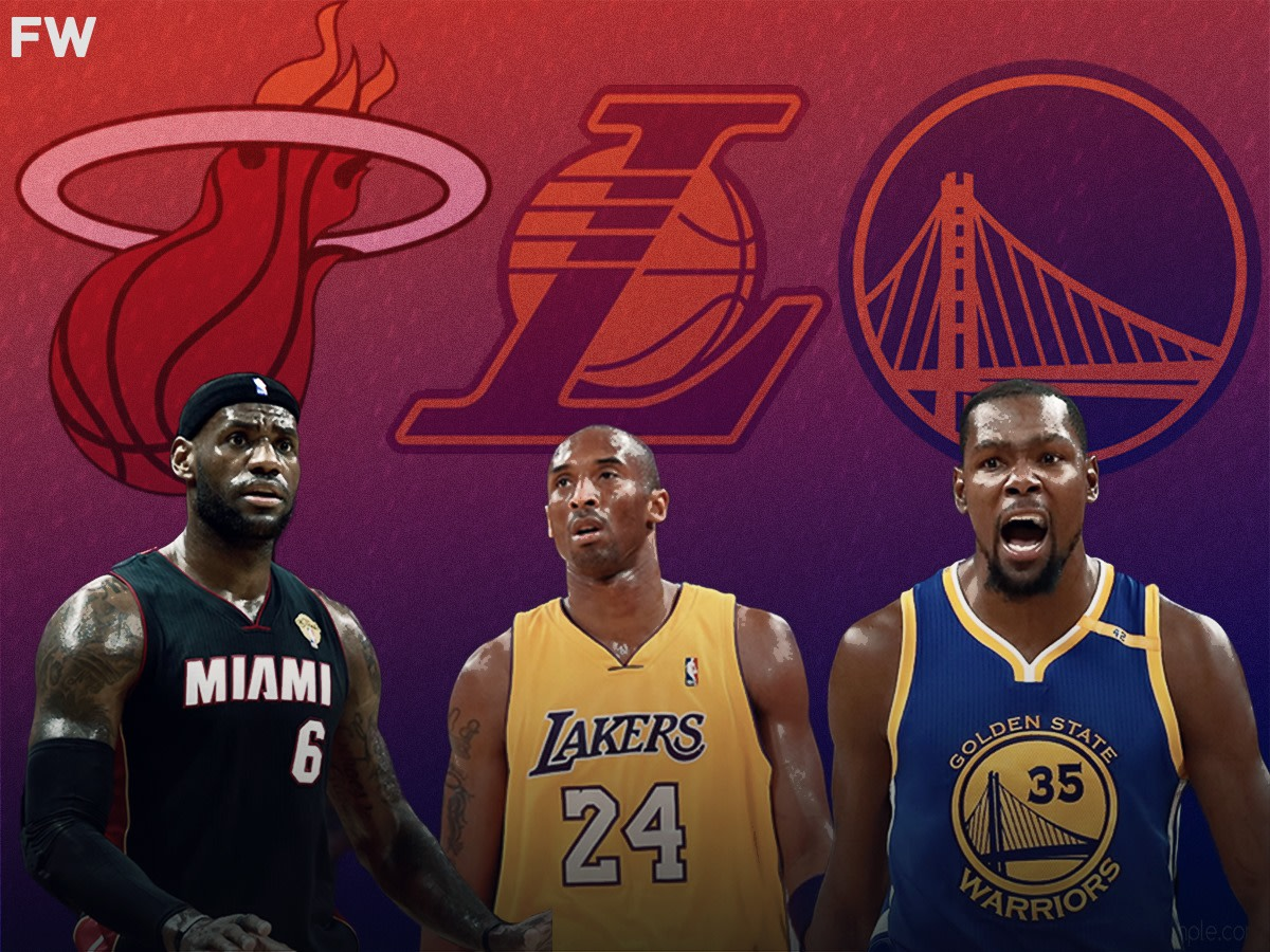 """Kobe Bryant Didn't Agree With LeBron James And Kevin Durant Changing Teams To Win Championships: """"You Can Win Championships In Front Of Everybody, Then You Could Miss The Playoffs In Front Of Everybody"""""""