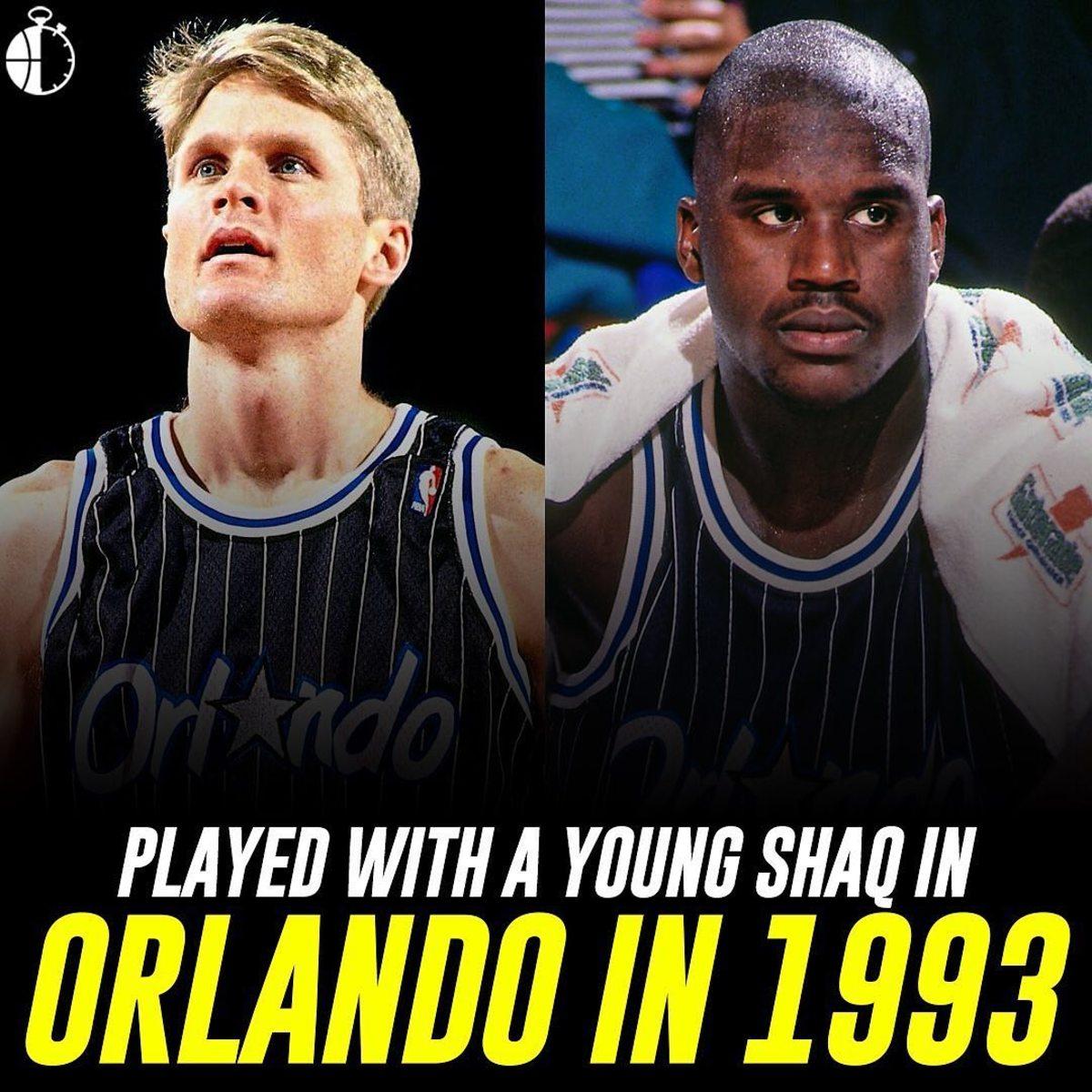 Steve Kerr Shaq O'Neal Orlando Magic