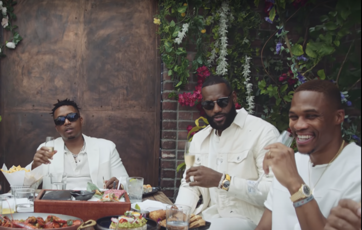 LeBron James And Russell Westbrook Appear In Nas' New Music Video