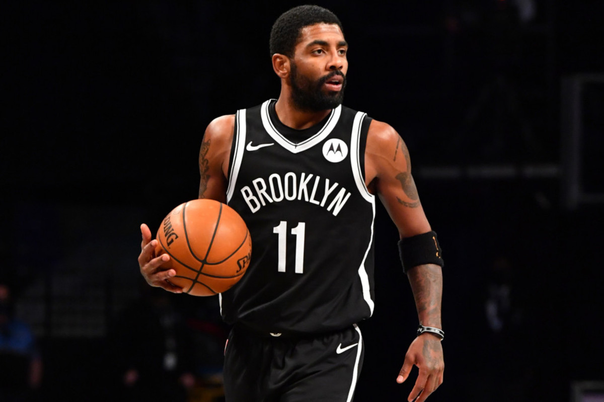 """Kyrie Irving Reveals The Real Meaning Behind 'Mask Off': """"You Stop Being Something You're Not And Stop Lying To Yourself."""""""