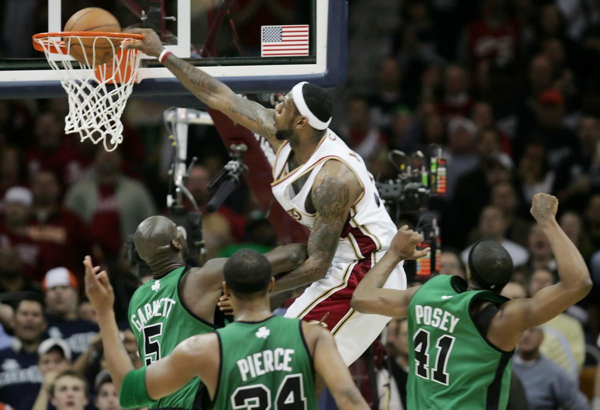 Kevin Garnett vs. LeBron James