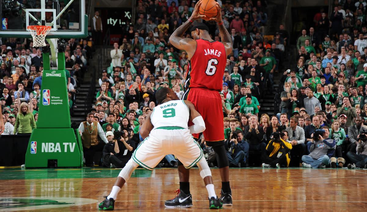 Rajon Rondo vs. LeBron James