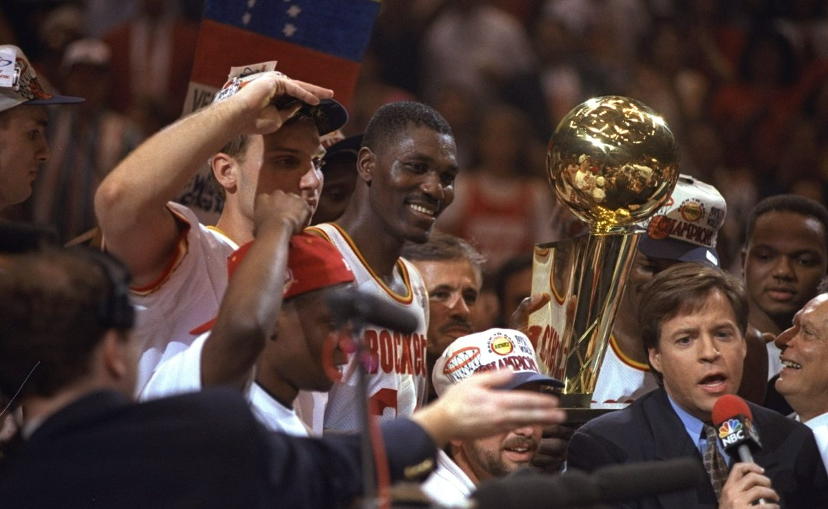 1994 NBA Champion Houston Rockets