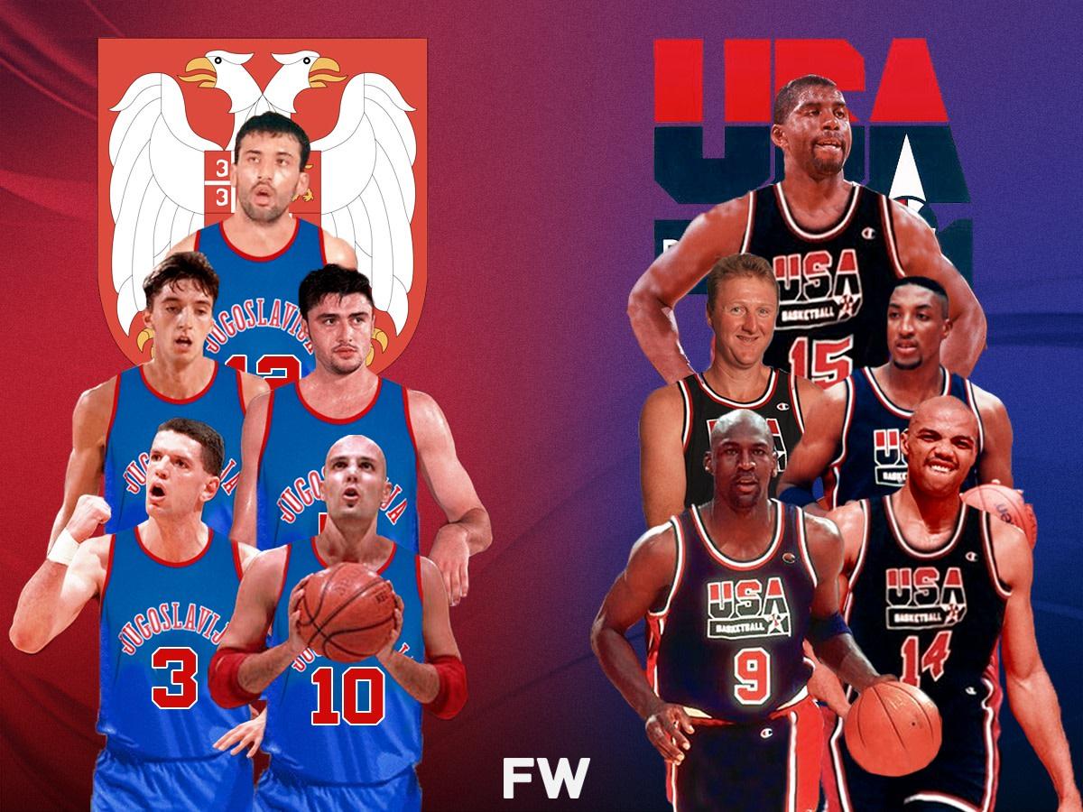 The Greatest Game We Never Got To Watch: 1992 Yugoslavia Dream Team vs. 1992 USA Dream Team