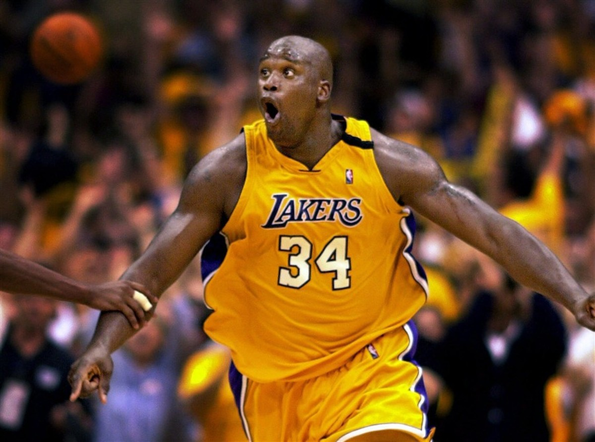 """Shaquille O'Neal On His Shape Right Now: """"I'm 385, 14% Body Fat Now. The First Championship 345, Got Happy. The Second Championship 365. That Third Championship 395."""""""