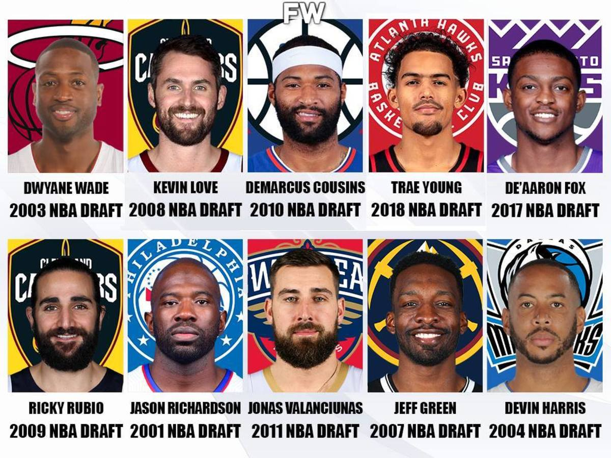 Ranking The Last 20 No. 5 Overall Picks: Dwyane Wade Is The Best, Trae Young Is Top-5
